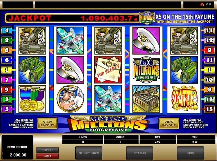Major Millions Slot