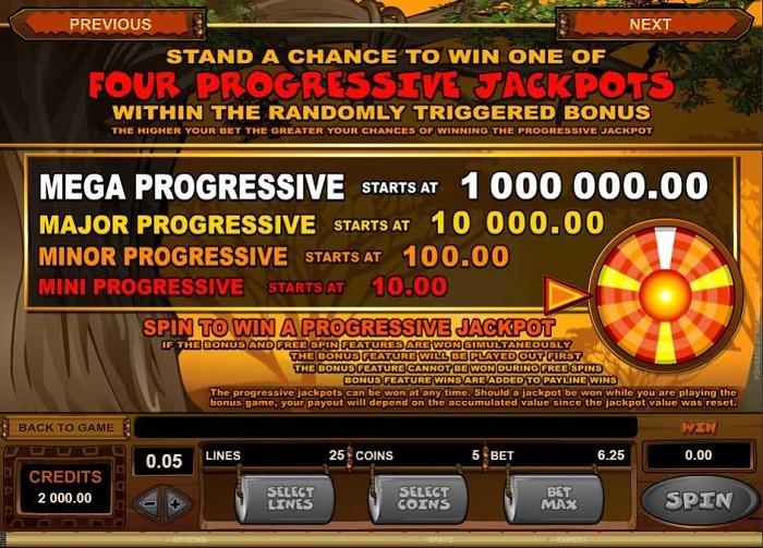 Mega Moolah Slot Jackpots