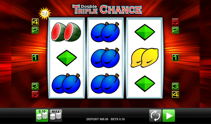Double Triple Chance HD Slot by Merkur Gaming