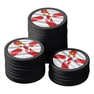 Northern Ireland Flag Poker Chips