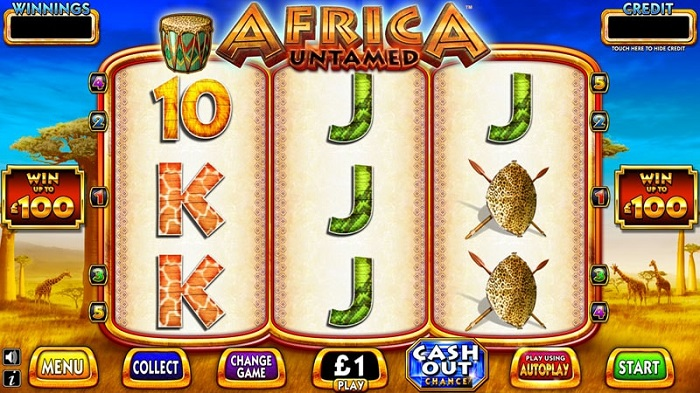 Africa Untamed Slot by Scientific Gaming
