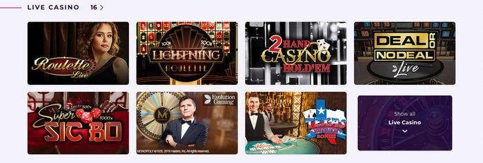 Slot Planet Live Casino