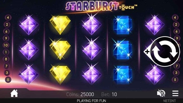 starburst touch slot