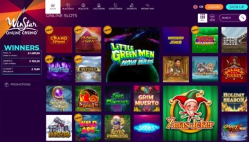 WinStar Online Casino Games