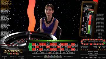 888Casino Live Roulette