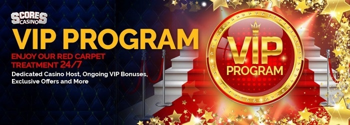 Scores Casino VIP Loyalty Program
