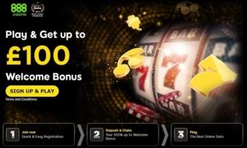 888casino new customer welcome bonus
