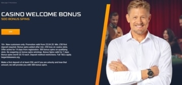 sts casino welcome bonus for new customers