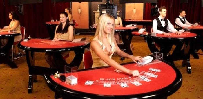 live blackjack at a new casino