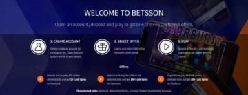 betsson welcome bonus offer for new uk casino players
