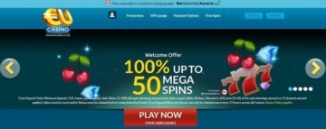 eucasino welcome bonus for new uk players