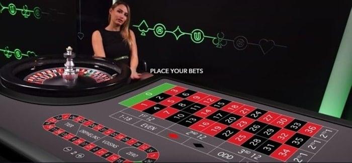 unibet casino live roulette