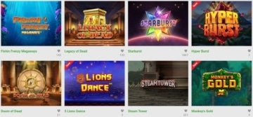 unibet casino top games