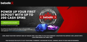 betsafe casino welcome bonus offer for new uk players