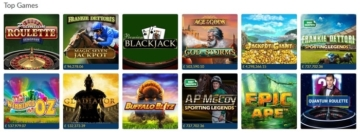 coral casino top games