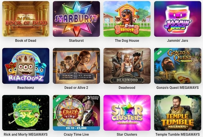 leovegas top casino games