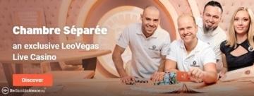 leovegas casino exclusive table games