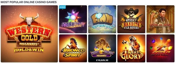netbet top casino games