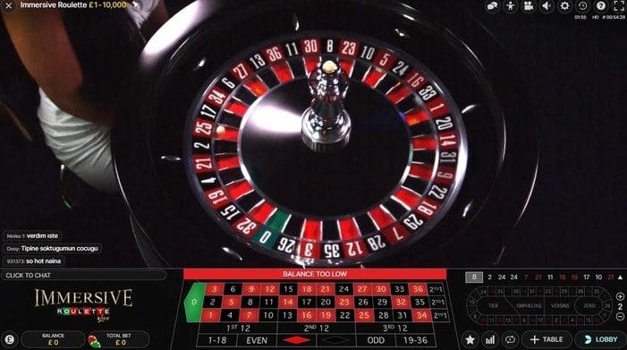netbet live immersive roulette
