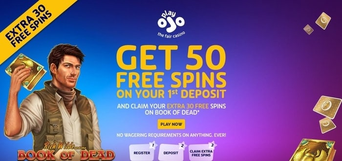 playojo welcome bonus offer for new uk players