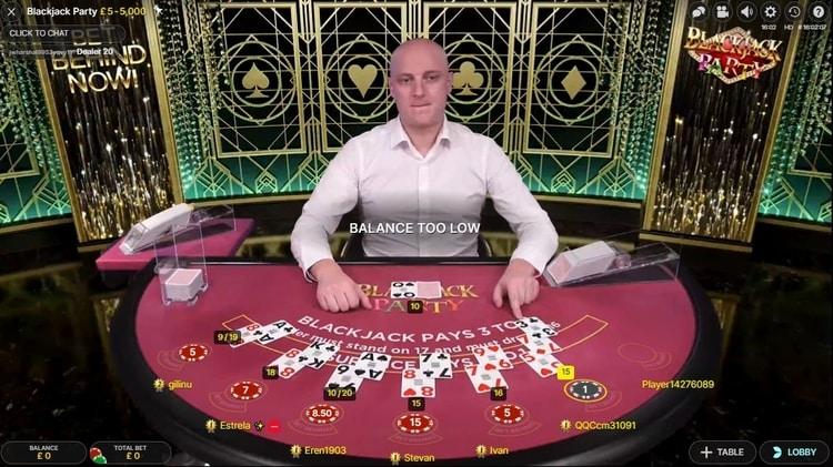 betregal casino live blackjack