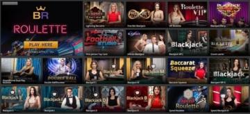 betregal live casino homescreen