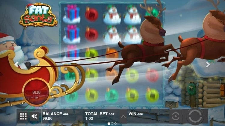 fat santa slot by push gaming