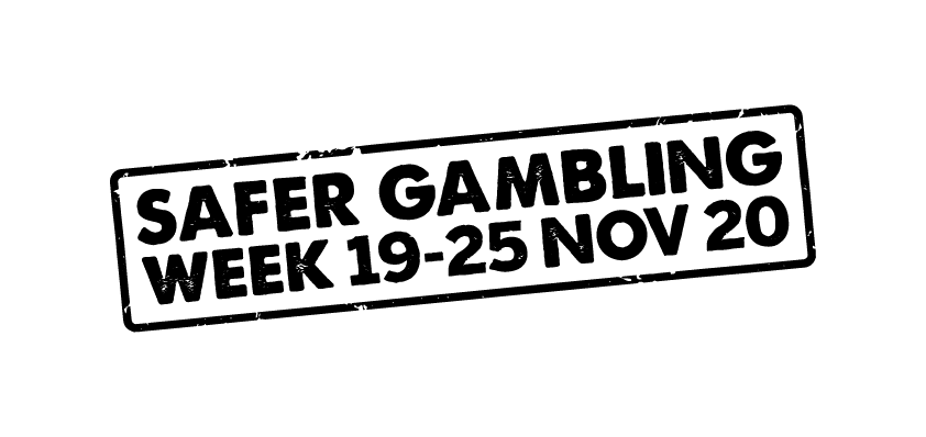 safer gambling week 2020 black logo