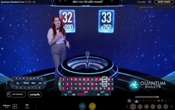 sun vegas live quantum roulette