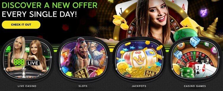 888 casino games lobby
