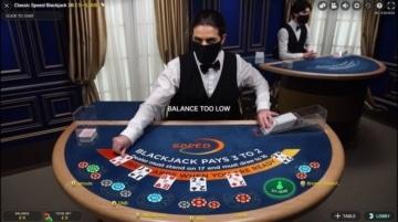 casilando live classic speed blackjack