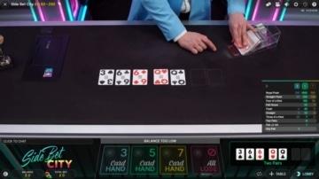 pink casino side bet city poker