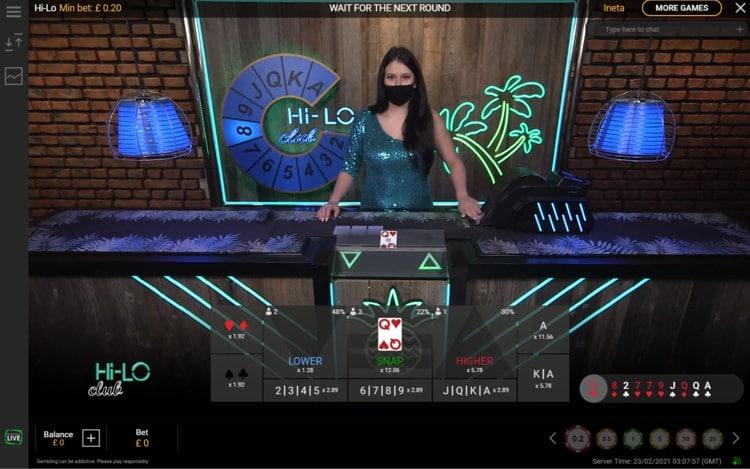 777 casino live poker table