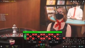 777 casino live roulette table
