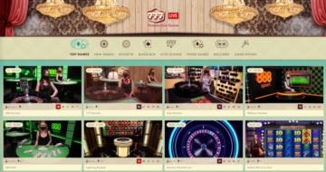 777 live casino interface