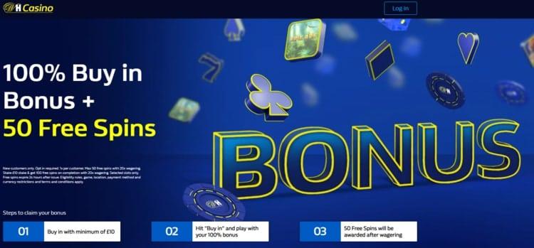 william hill casino welcome bonus