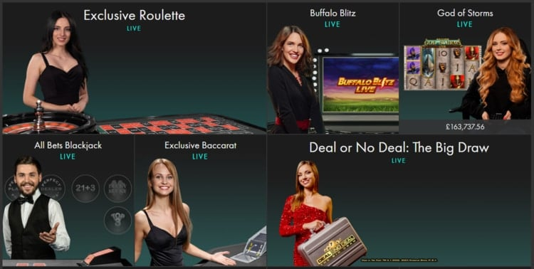 bet365 live casino games