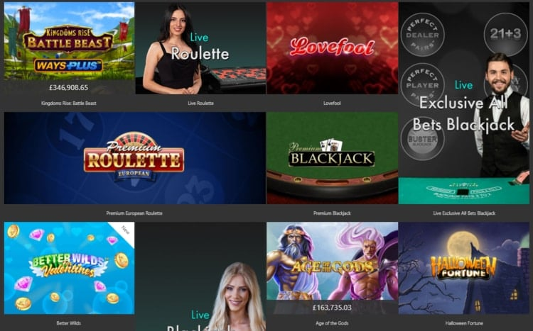 bet365 featured games