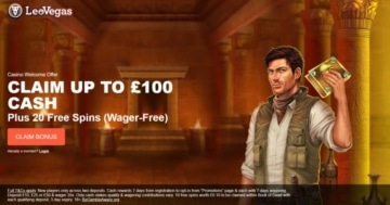 leovegas welcome bonus for new players