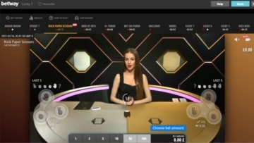 betway live games with betgames.tv