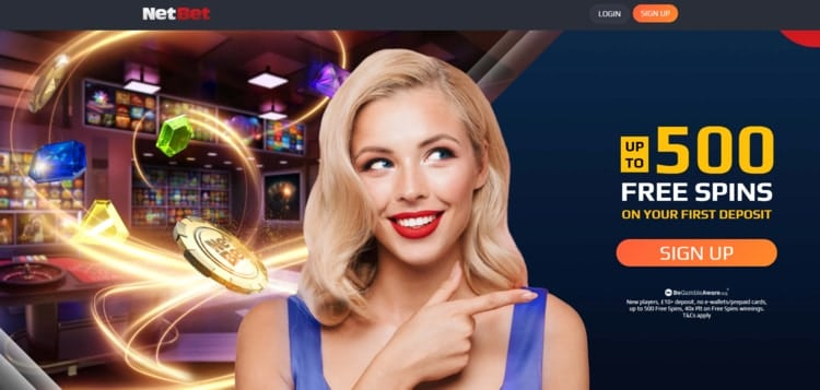 netbet casino welcome bonus for new players