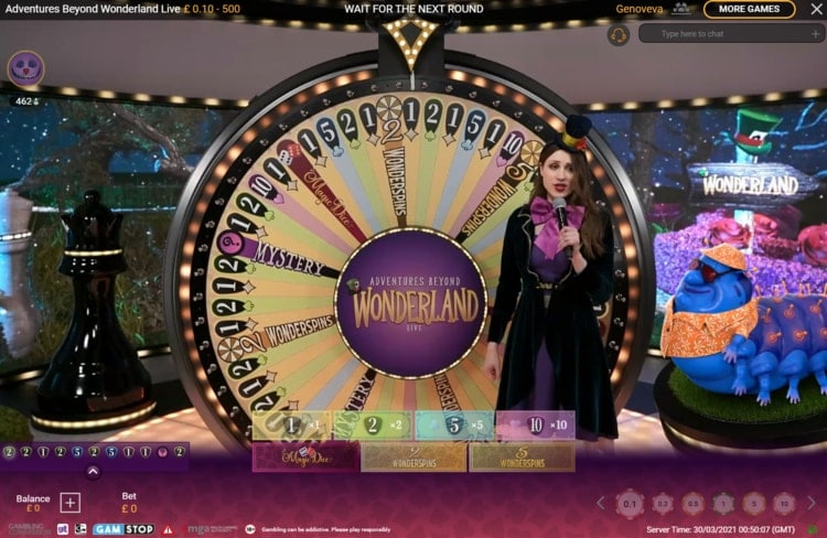 paddy power live casino game shows