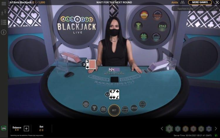 bgo casino live blackjack