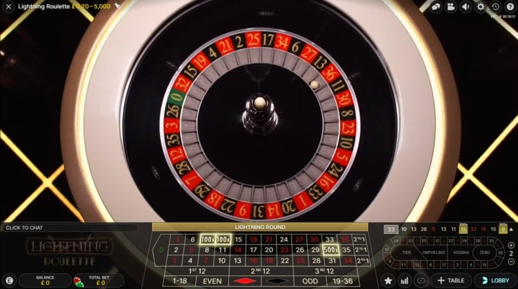partycasino live roulette