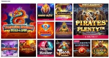 partycasino top trending casino games