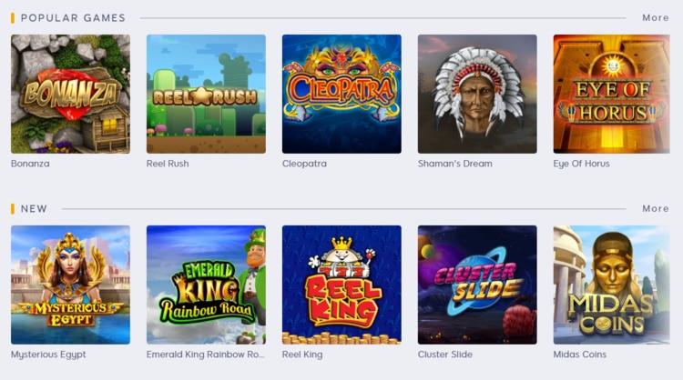 amber spins popular games
