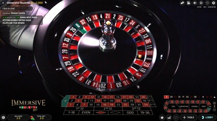 casino lab live immersive roulette table