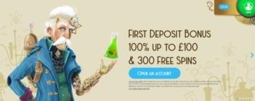 casino lab welcome bonus for new customers