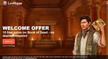 leovegas no deposit bonus offer for new customers