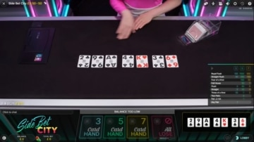 duelz casino side bet city poker